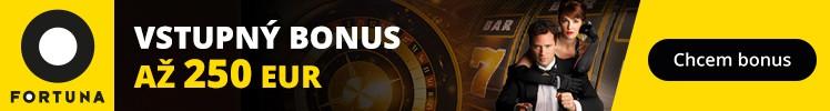 Fortuna Casino vstupný bonus