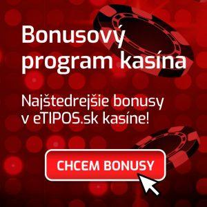 Bonus eTipos kasíno