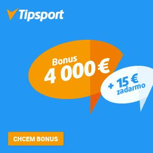 Tipsport 15+4000