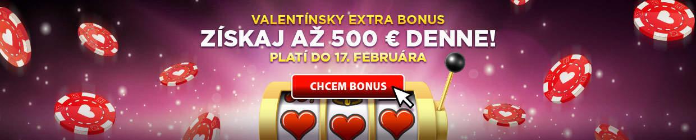 Valentínsky extra bonus eTipos