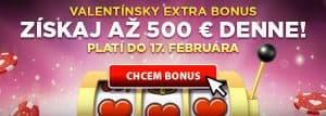 Valentínsky bonus eTipos