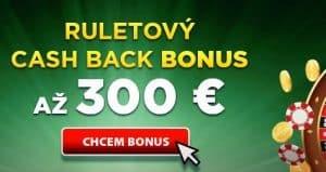 Ruletový cashback eTIPOS.sk