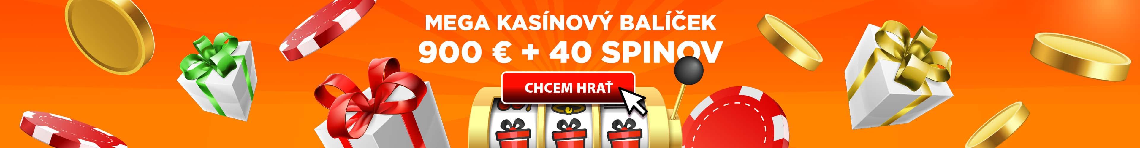 Mega kasínový balíček od eTIPOS.sk