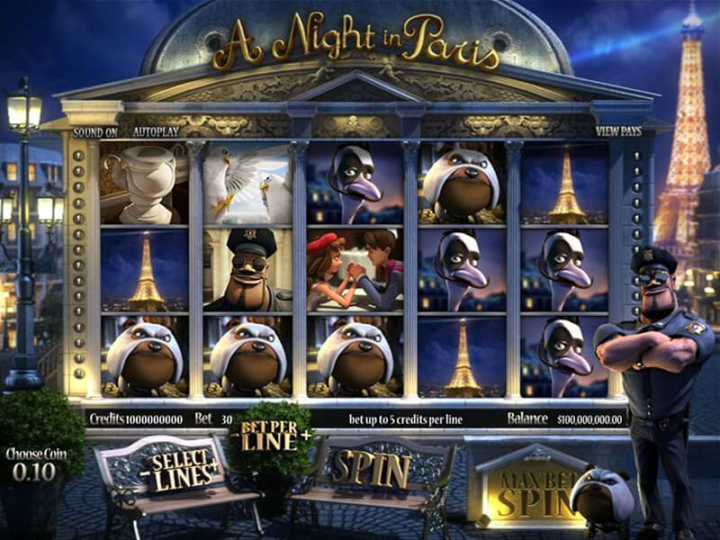 A Night in Paris - online automat