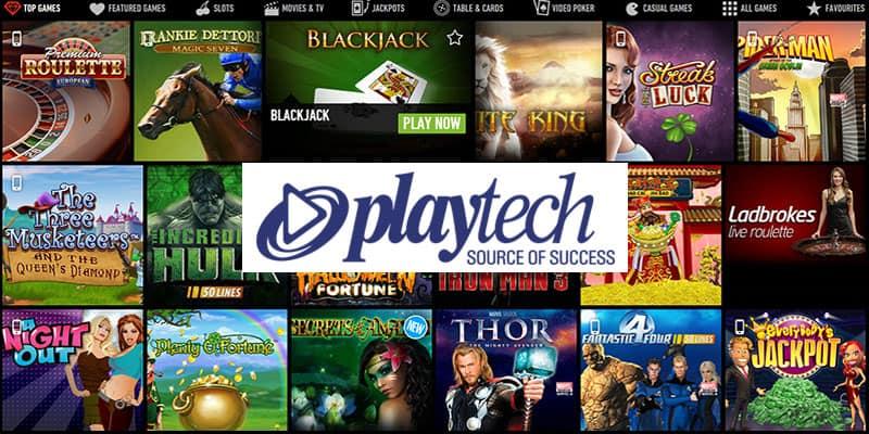 Najlepšie automaty PlayTech