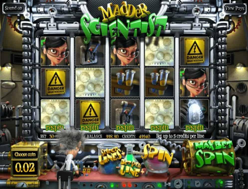 Madder Scientist - online automat