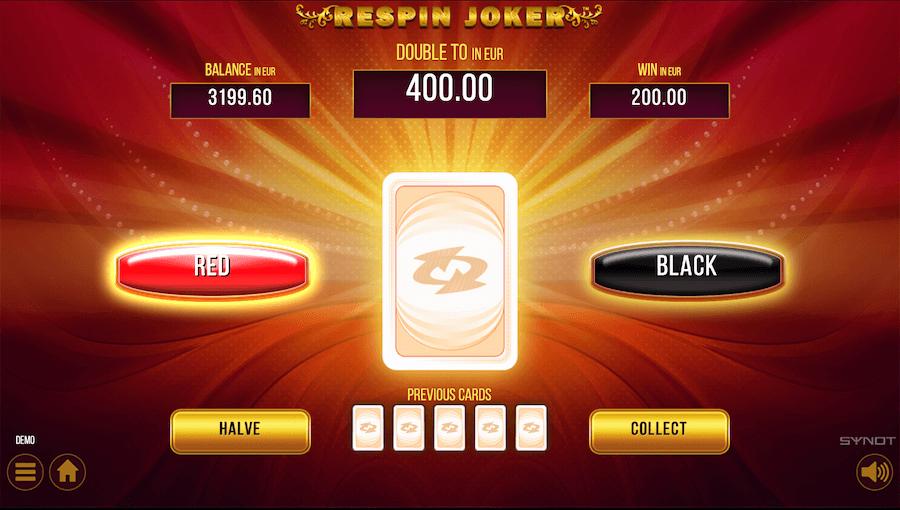 Respin Joker výber farby bonus