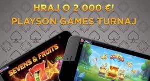 Playson turnaj v kasíne eTIPOS