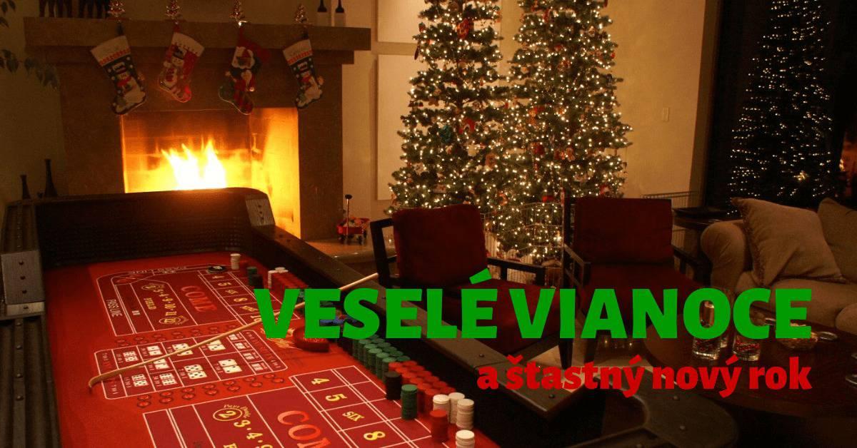 Veselé Vianoce od Kasino-Online.sk