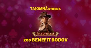 Tajomná streda SynotTIP Casino