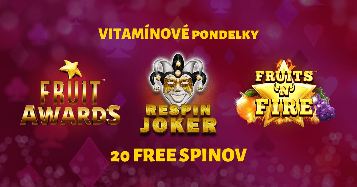 Vitamínové pondelky v SynotTIP Casino