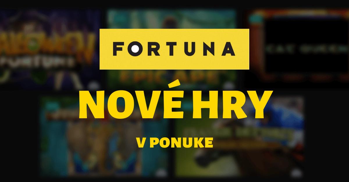 Fortuna Casino nové hry v ponuke február 2020