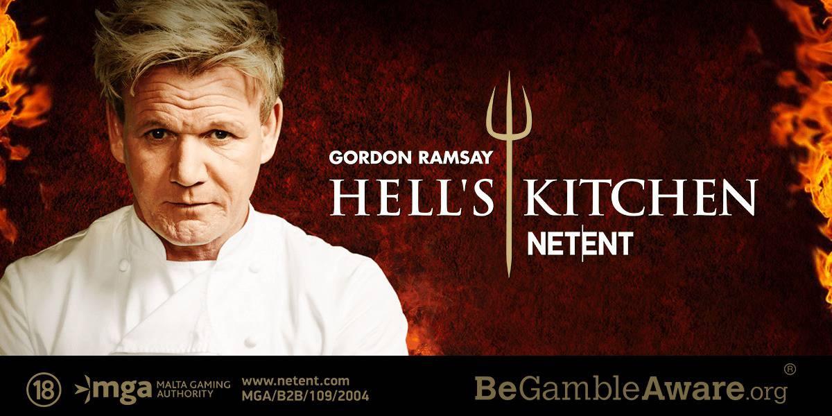 NetEnt online automat Hell's Kitchen