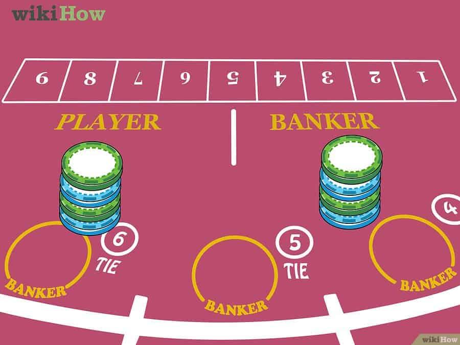 Ako hrať online baccarat - krok 1