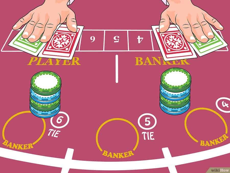 Ako hrať online baccarat - krok 2