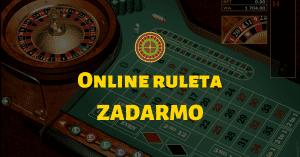 Online ruleta zadarmo