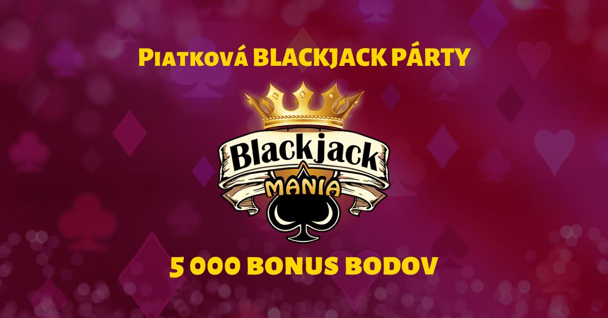 Piatková blackjack párty v SynoTIP Casino