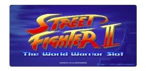 NetEnt online automat Street Fighter II