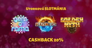 Utorková slotmánia v SynotTIP Casino