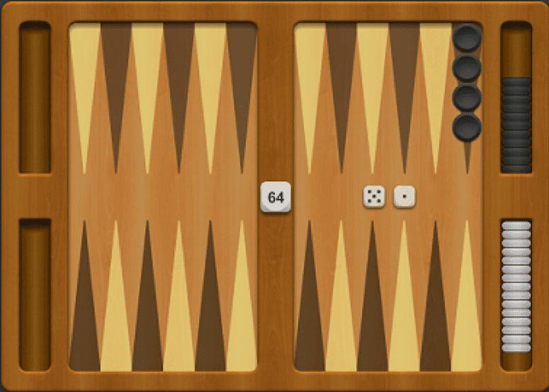 Backgammon - hracia doska - poloha 3