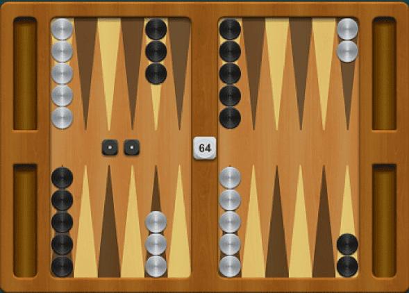 Backgammon - hracia doska