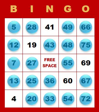 Bingo - maximálny počet čísel na hracej karte kým padne Bingo