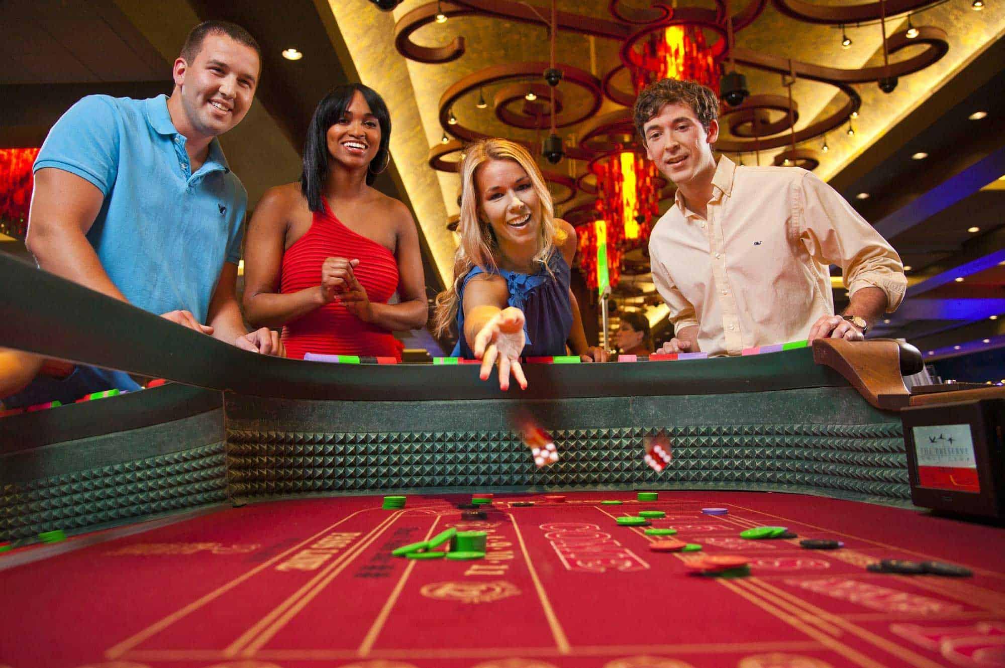 Craps v kamennom kasíne