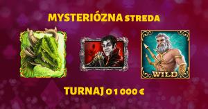 Mysteriózna streda - SynotTIP Casino