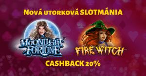 Nová utorková slotmánia v SynotTIP Casino