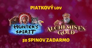 Piatkový lov v SynotTIP Casino