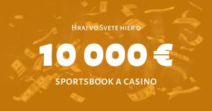 Niké Svet hier - promoakcia 10 000 €