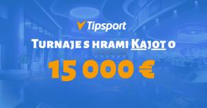 Tipsport kasíno turnaje Kajot online automaty