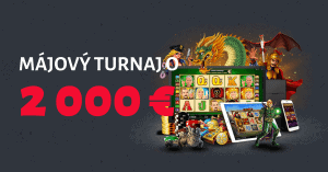 Májový turnaj v DOXXbet Kasíne o 2000 €