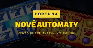 Nové Kajot automaty vo Fortuna Casino Vegas