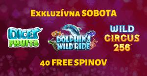 Exkluzívna sobota v SynotTIP Casino