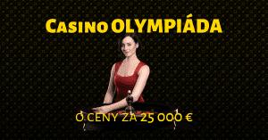 Zapojte sa vo Fortuna Casino do olympiády o ceny za 25 000 €