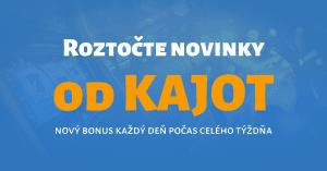 Užite si týždeň plný superturnajov a bonusov v Tipsport Kasíno - KAJOT Games