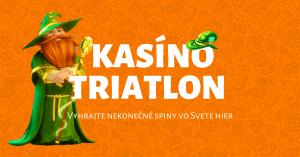 Kasíno Triatlon v Niké Svet hier