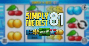 Simply The Best 81 - online automat KAJOT Games