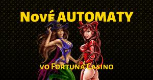 Nové SYNOT Games automaty vo Fortuna Casino