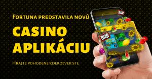 Fortuna Casino - mobilná aplikácia