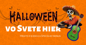 Halloween v Niké Svet hier