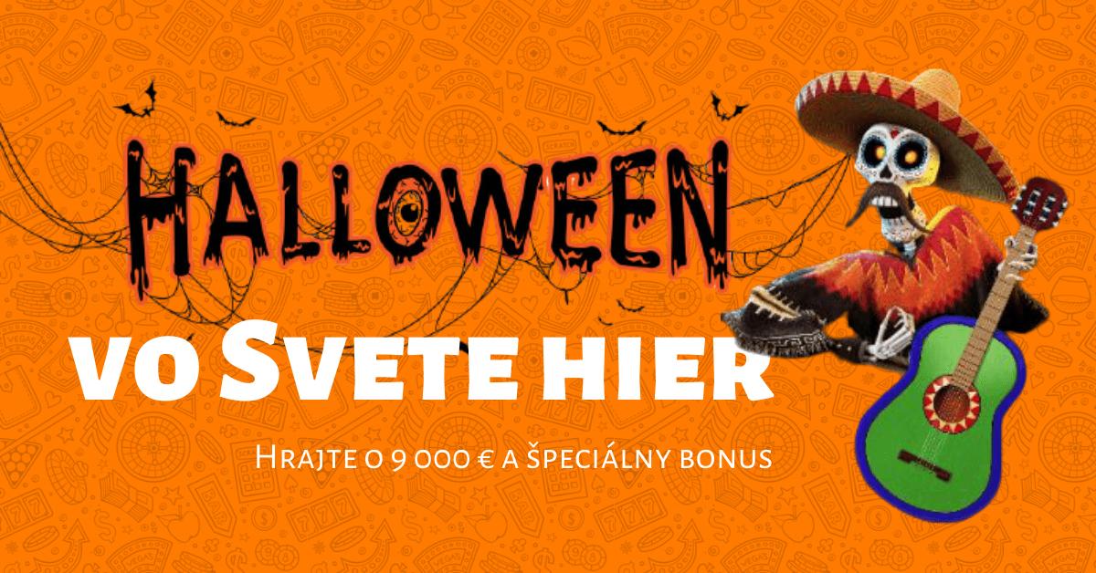Halloween vo Svete hier: Hrajte o 9000 € a špeciálny bonus