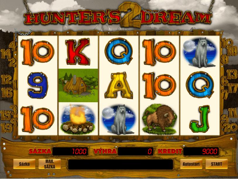 Hunter's Dream 2 automat od E-Gaming - ukážka gameplay