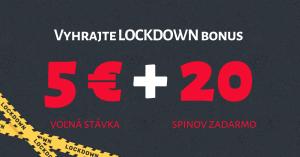 Vyhrajte lockdown bonus od DOXXbet