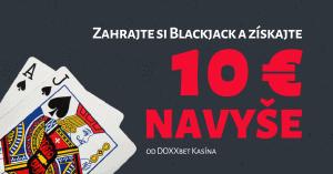 Black Friday v DOXXbet Kasíno Blackjack