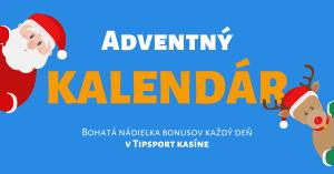 Adventný kalendár 2020 v Tipsport Kasíno