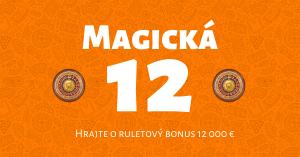 Magická 12 v Niké Svet hier: Hrajte o bonus 12 000 €