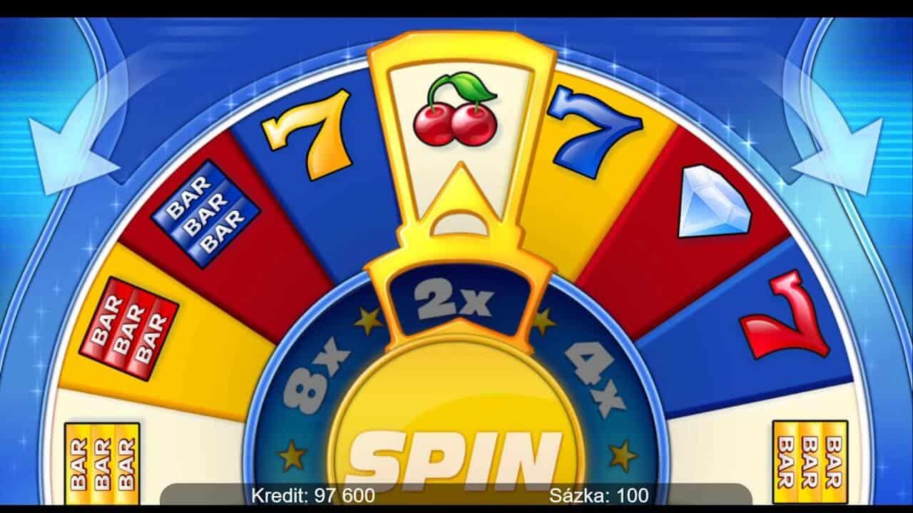 Online automat 9 Stars, bonusové koleso šťastia