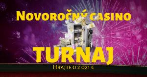 Novoročný kasínový turnaj o 2021 € vo Fortuna Casino